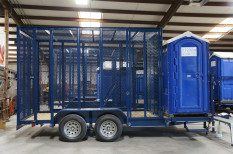 Trash-Port-A-Potty-Trailer